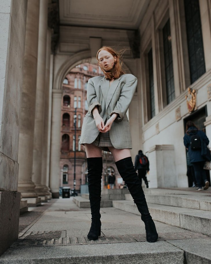 Portrait of Holly Rebecca White, Manchester lifestyle blogger