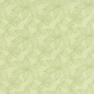 Aria Fabric - Half Yard - Moda Fabric - Green Tonal Flowers Floral Kate Spain Quilting Fabric Moda 27234 18