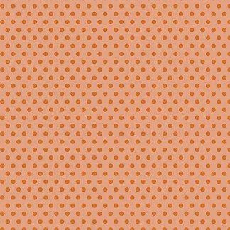 Crystal Farm Fabric - Andover Fabric - Half Yard - Edyta Sitar Laundry Basket Quilts Gold Polka Dots on Pink A-8624-E