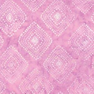 Latitude Batik Fabric - Moda Fabric - Half Yard - Kate Spain Pink Polka Dot Diamonds Direction Hand Dyed Fabric Quilt Fabric 27250-270