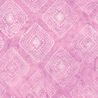Latitude Batik Fabric - Moda Fabric - Half Yard - Kate Spain Pink Polka Dot Diamonds Direction Hand Dyed Fabric Quilt Fabric 27250-270