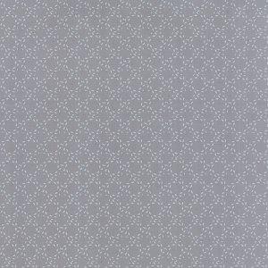Modern Background Ink - Zen Chic Basic Stitched Circles Medium Steel Grey Gray with White Moda Quilting Sewing Fabric 1587 23 - Half Yard