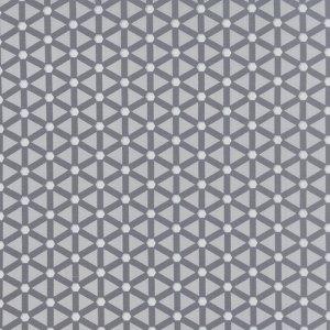 Modern Background Ink - Zen Chic Basic Wheels Light and Dark Grey Gray Geometric by Moda Quilting Sewing Fabric 1585 20 - Half Yard