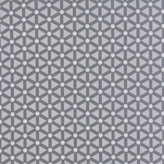 Modern Background Ink - Zen Chic Basic Wheels Light and Dark Grey Gray Geometric by Moda Quilting Sewing Fabric 1585 20 - Half Yard