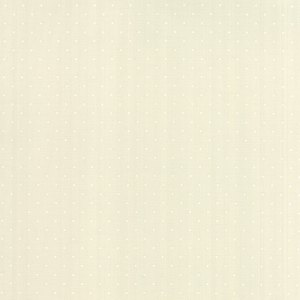 Modern Background Paper by Zen Chic Basic Off White with White Polka Dots by Moda Quilting Sewing Fabric 1588 18 - Half Yard