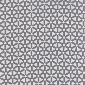 Modern Background Paper - Zen Chic Basic Wheels Light and Dark Graphite Grey Gray Geometric Moda Quilting Sewing Fabric 1585 18 - Half Yard