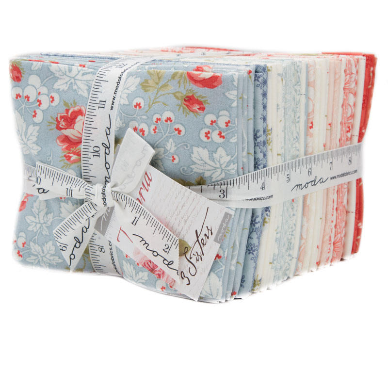 Victoria Fat Quarter Bundle Moda Fabric Moda Collection 3