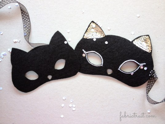 Máscara Feltro Gato