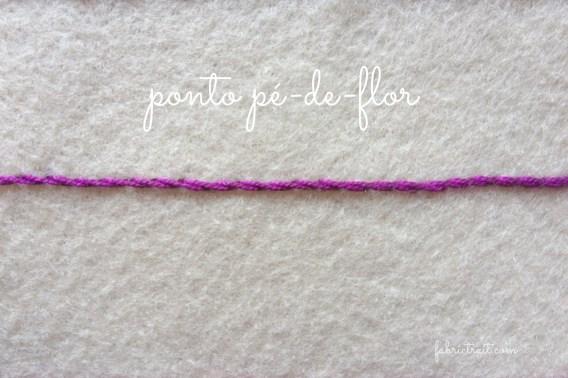 Ponto Pé-de-Flor