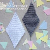 Triângulos & Losangos de Crochet