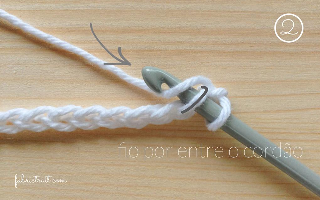 Pontos de Crochet - Crochet Tunisino Simples 2 | crochet tunisino