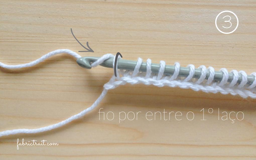 Pontos de Crochet - Crochet Tunisino Simples 3 | crochet tunisino