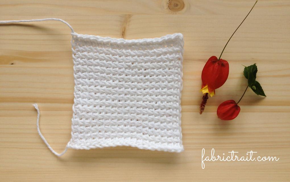 Pontos de Crochet - Crochet Tunisino Simples 8 | crochet tunisino