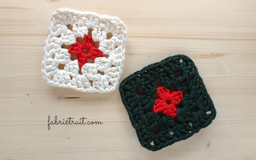 Ponto de Crochet - Exemplos do Ponto Quadrado da Avó