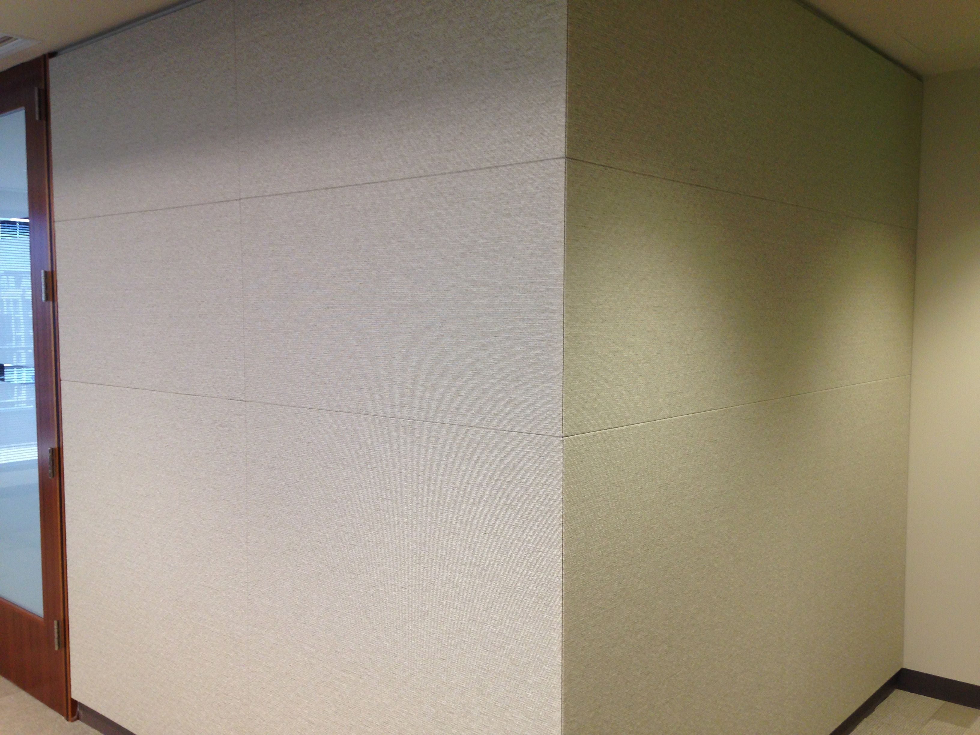 Fabric Wrapped Acoustical Wall And Ceiling Panels