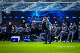 Antonio Conte Head Coach of FC Internazionale during the Champions League match between FC Internazionale and FC Barcelona at the San Siro Stadium, Milan, Italy on 10 December 2019. Photo Fabrizio Carabelli