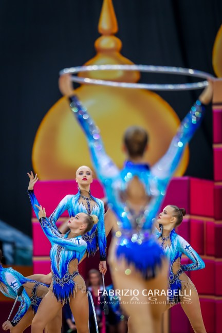 FINLAND Group - FIG Rhythmic Gymnastics WORLD CHAMPIONSHIPS BAKU 2019 --------------------------------------------------------------- Immagini ad uso editoriale • Servizio Uffici Stampa e Federazioni • Contattateci per informazioni Images for editorial use • Federations and Press Office Service • DM for any information Fabrizio Carabelli © All Rights Reserved -------------------------------------------------------------- FABRIZIO CARABELLI IMAGES #FCI www.fabriziocarabelli.com