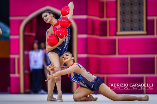 FRANCE Group - FIG Rhythmic Gymnastics WORLD CHAMPIONSHIPS BAKU 2019 --------------------------------------------------------------- Immagini ad uso editoriale • Servizio Uffici Stampa e Federazioni • Contattateci per informazioni Images for editorial use • Federations and Press Office Service • DM for any information Fabrizio Carabelli © All Rights Reserved -------------------------------------------------------------- FABRIZIO CARABELLI IMAGES #FCI www.fabriziocarabelli.com
