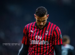 Theo Hernandez of AC Milan during the Coppa Italia 2019/20 match between AC Milan vs Juventus at the San Siro Stadium, Milan, Italy on February 13, 2020 - Photo Fabrizio Carabelli