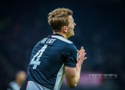 Matthijs de Ligt of Juventus during the Coppa Italia 2019/20 match between AC Milan vs Juventus at the San Siro Stadium, Milan, Italy on February 13, 2020 - Photo Fabrizio Carabelli