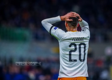Ferran Torres Valencia CF during the Champions League 2019/20 match between Atalanta BC vs Valencia CF at the San Siro Stadium, Milan, Italy on February 19, 2020 - Photo Fabrizio Carabelli