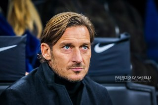Francesco Totti during the Serie A match between FC Internazionale and AS Roma at the San Siro Satdium, Milan, Italy on 06 December 2019. Photo Fabrizio Carabelli