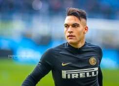 Lautaro Martínez of FC Internazionale during the Serie A 2019/20 match between FC Internazionale vs Cagliari Calcio at the San Siro Stadium, Milan, Italy on January 26, 2020 - Photo Fabrizio Carabelli