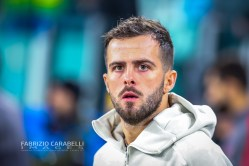 Miralem Pjanic of Juventus during the Champions League match between Juventus and Atletico Madrid at the Allianz Stadium, Turin, Italy on 26 November 2019. Photo by Fabrizio Carabelli