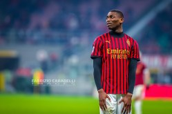 Rafael Leao of AC Milan during the Serie A match between AC Milan and US Sassuolo at the San Siro Stadium, Milan, Italy on 15 December 2019 - Photo Fabrizio Carabelli