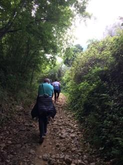 sul percorso naturale