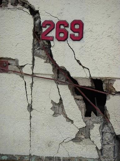 Haiti 269 grieta crepa
