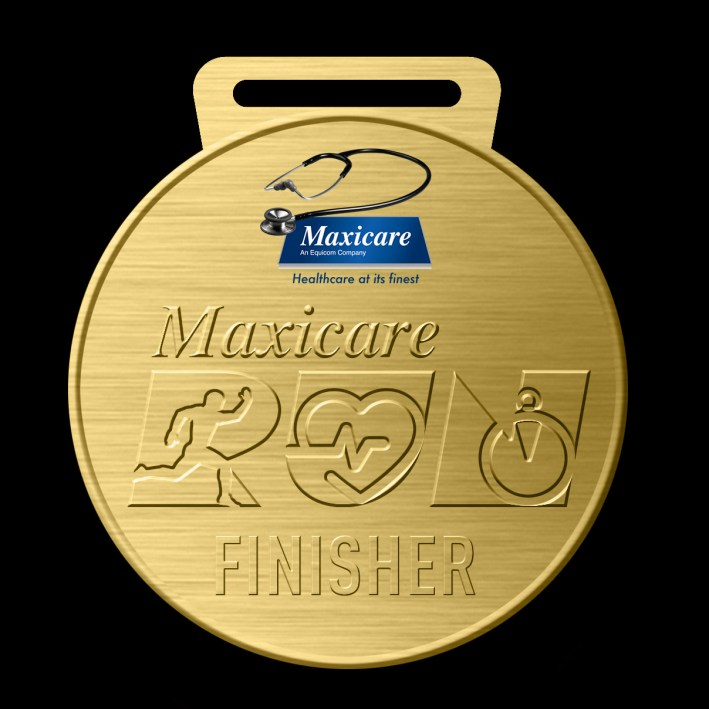 MaxicareRun_MedalDesign