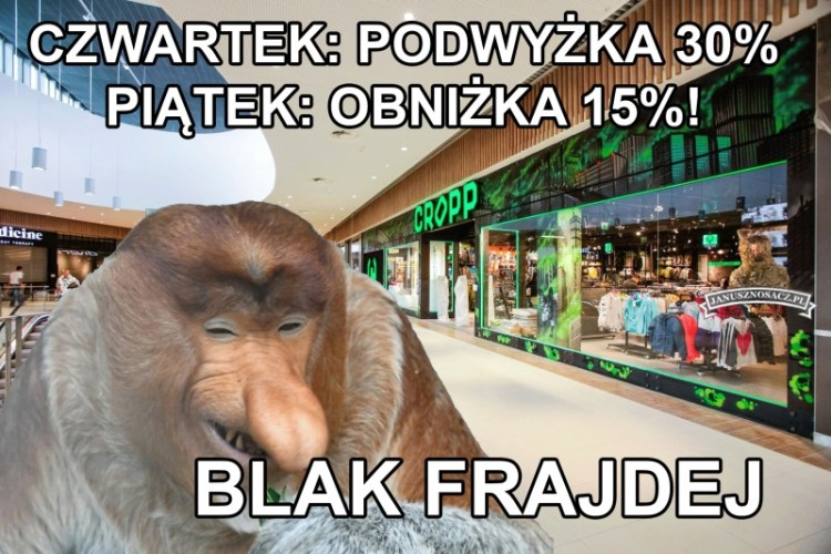 black friday nosacz