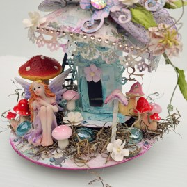C97 Charms Of Spring Collection_Fairy Mushroom House_2_Trudi Harrison