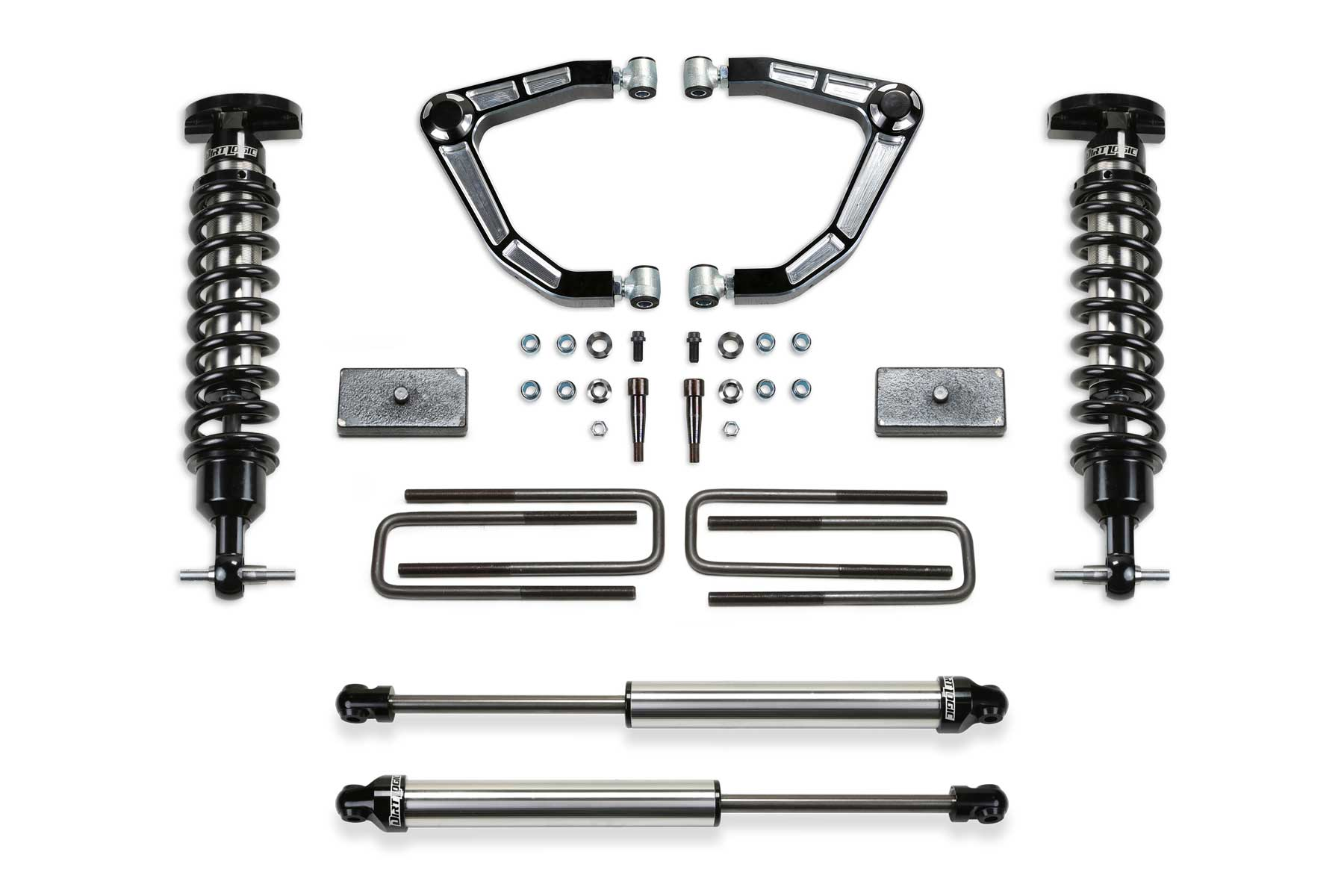 3 5 Aluminum Uniball Uca System W Bushing Rod Ends W Front Dirt Logic 2 5 Coilovers Amp Rear