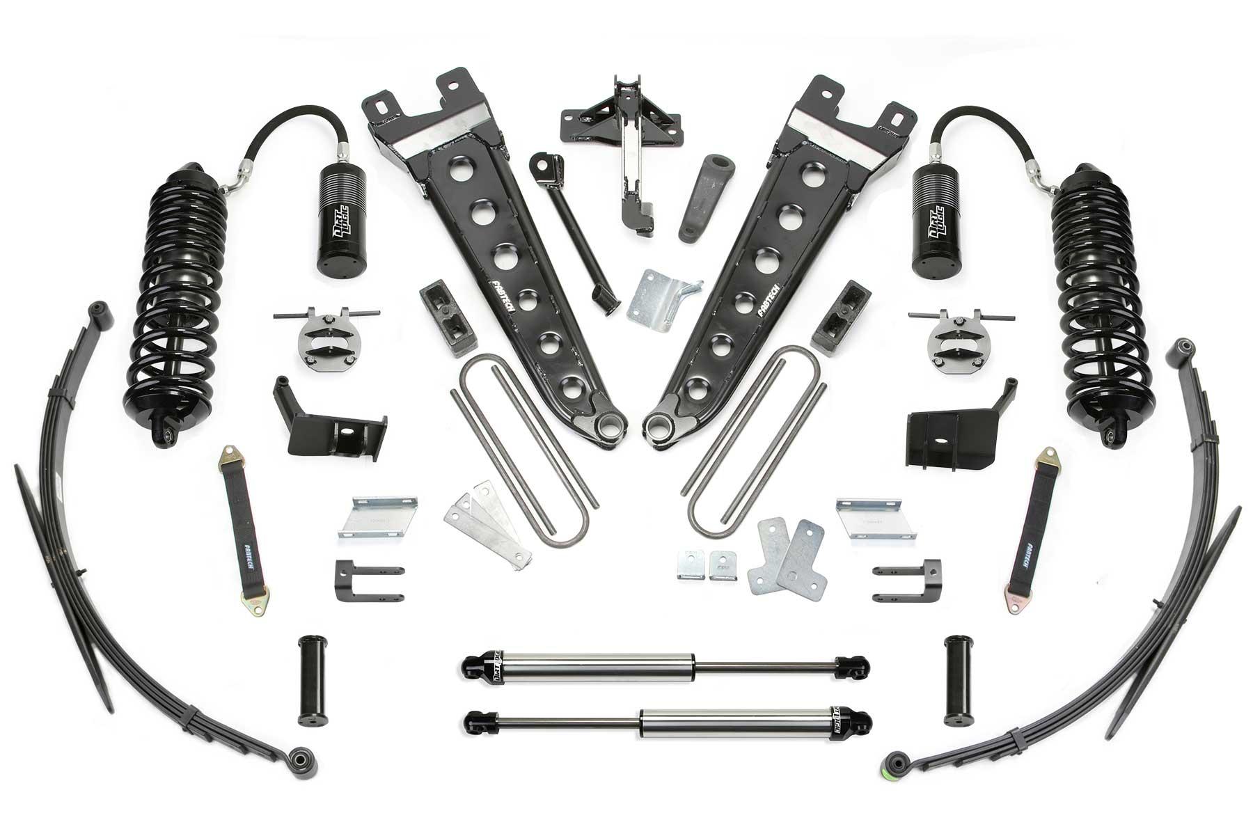 8 Radius Arm System W Front Dirt Logic 4 0 Resi Coilovers Amp Rear Dirt Logic 2 25 Shocks