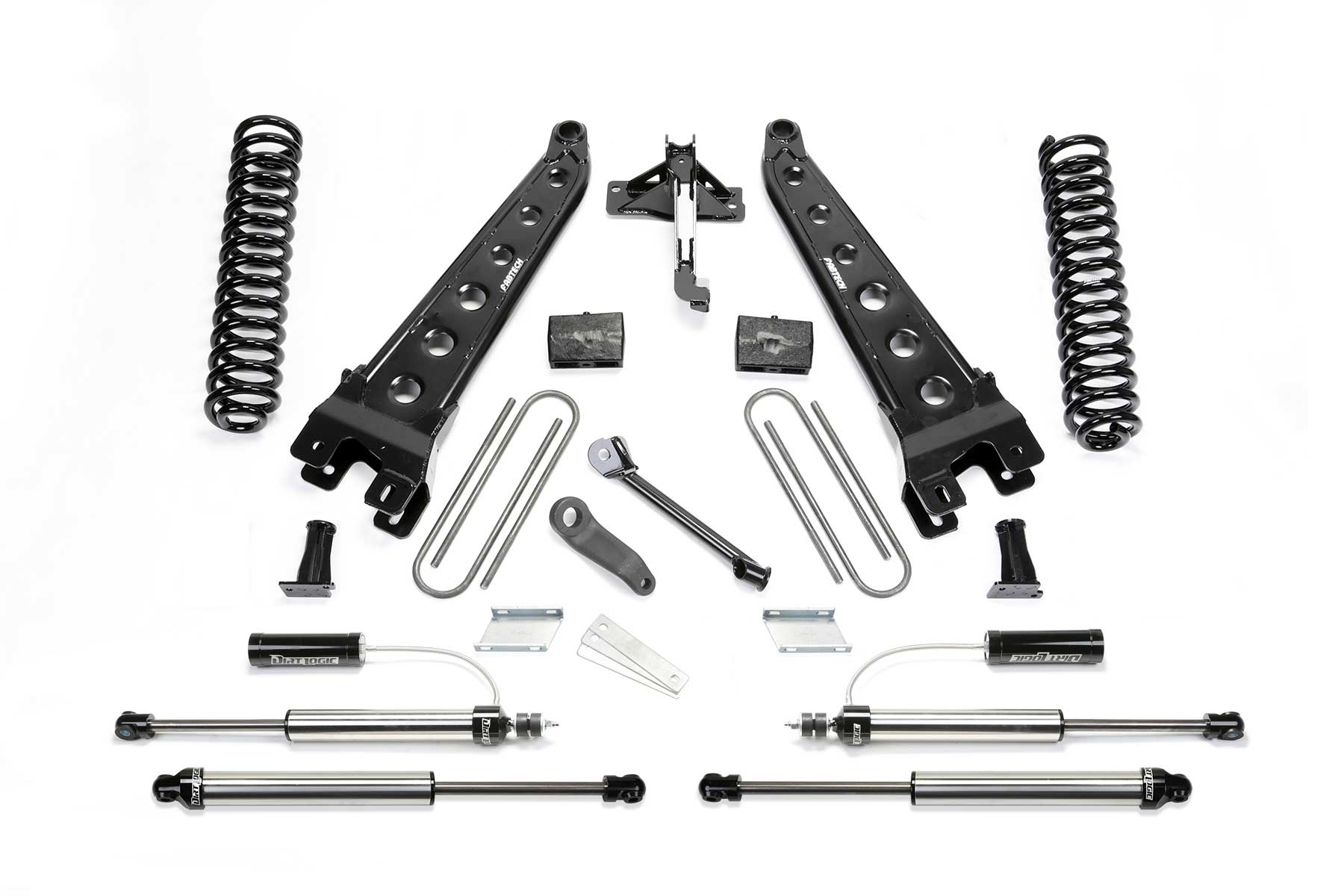 4 Radius Arm System W Front Dirt Logic 2 25 Resi Shocks Amp Rear Dirt Logic Shocks