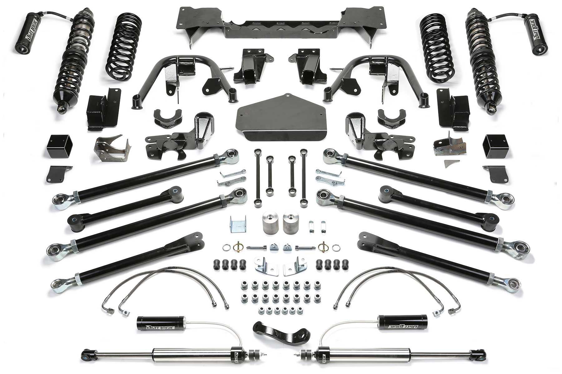 5 Crawler Coilover System W Front Dirt Logic 2 5 Resi Coilovers Amp Rear Dirt Logic 2 25 Resi