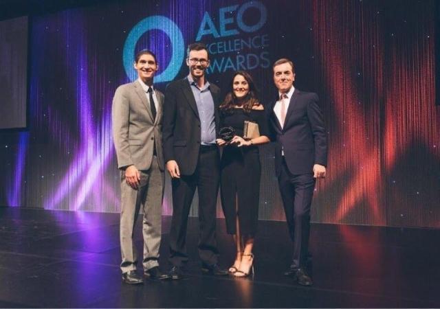 Pure London AEO Social Media Award Win