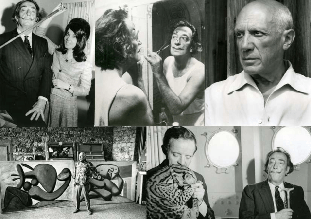 UNVEILS PREVIOUSLY UNSEEN, VINTAGE DALI AND PICASSO IMAGES 3