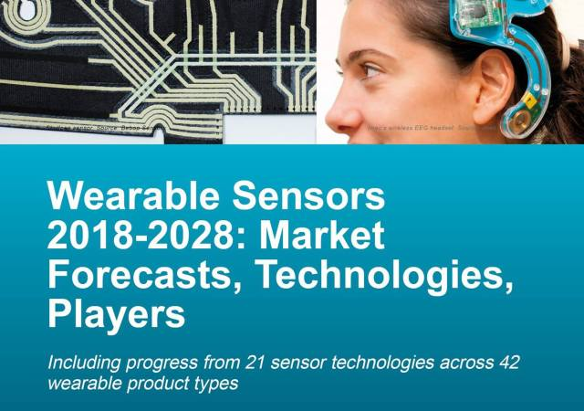 Wearable sensors reach their first billion-dollar year, with growth coming in three waves