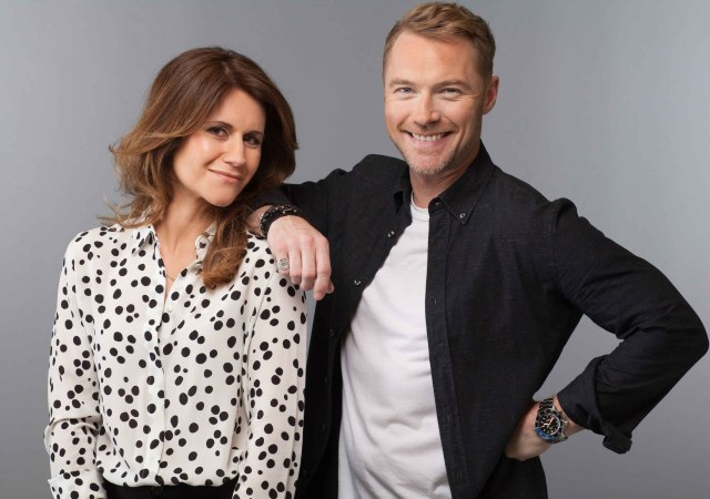 Ronan Keating and Harriet Scott Ring in Second Week of Brand New Magic Radio Breakfast Show 2