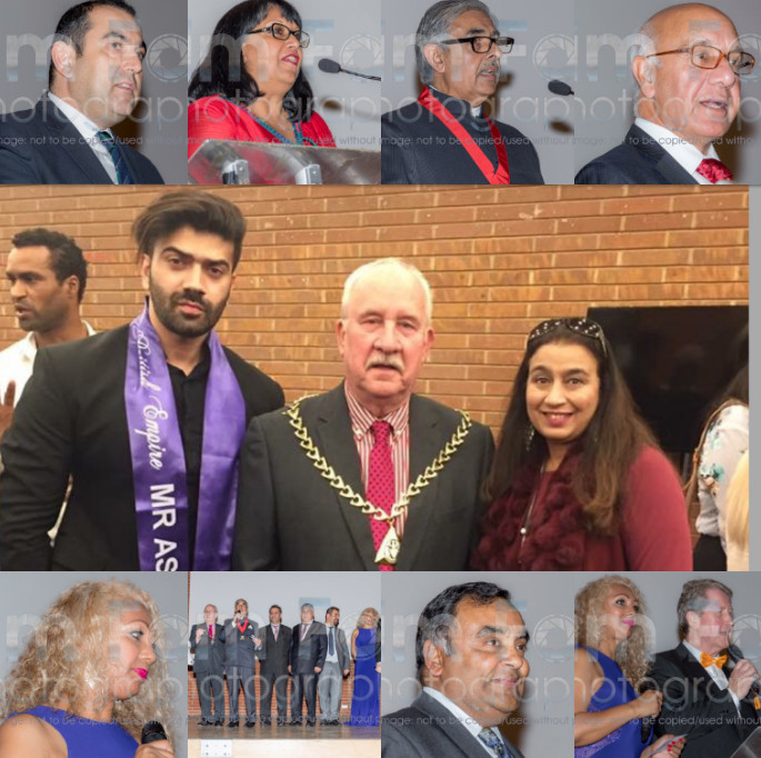 Mr Asia British Empire 2017 Danish Wakeel receiving an award at the International Diversity Festival London 2017 1