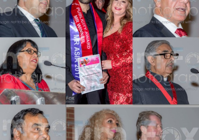 Mr Asia British Empire 2017 Danish Wakeel receiving an award at the International Diversity Festival London 2017 2