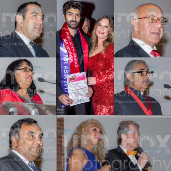 Mr Asia British Empire 2017 Danish Wakeel receiving an award at the International Diversity Festival London 2017 2