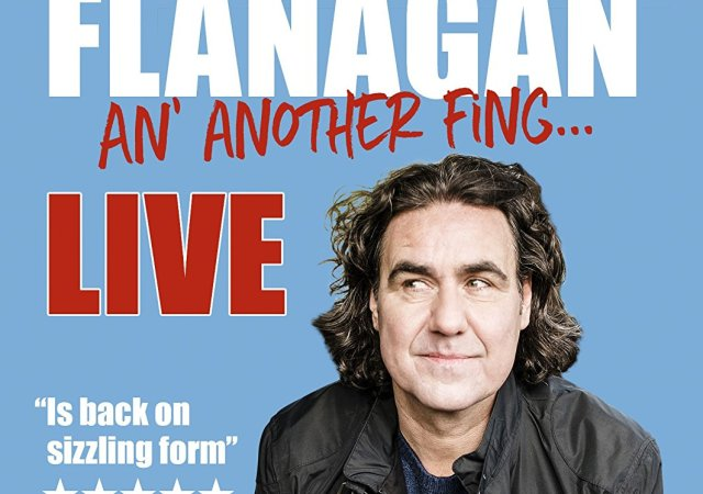 Micky Flanagan's 'An' Another Fing'...#1 in the DVD charts as release date announced