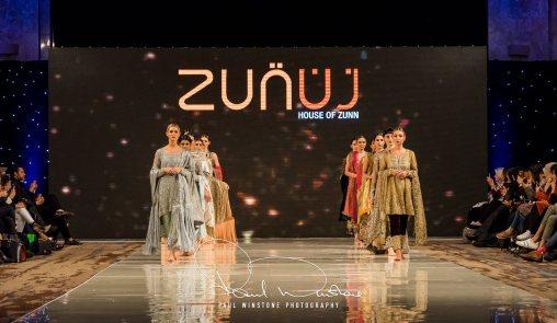 Zunn Catwalk At Pakistan Fashion Week London (1)