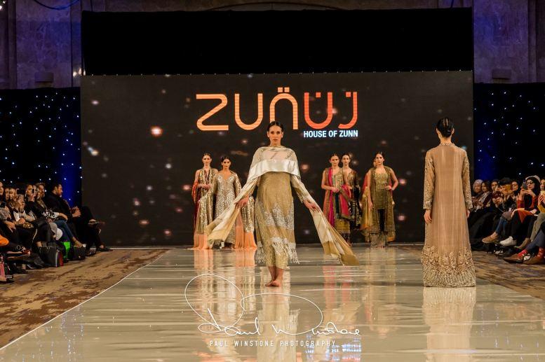Zunn Catwalk At Pakistan Fashion Week London (14)