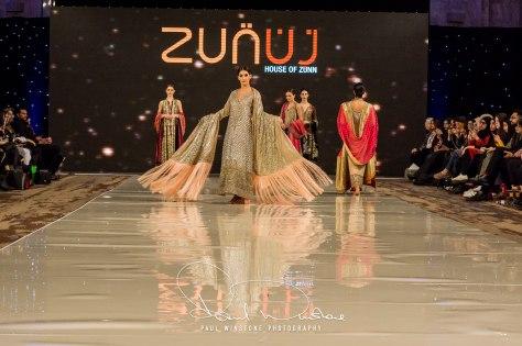 Zunn Catwalk At Pakistan Fashion Week London (18)