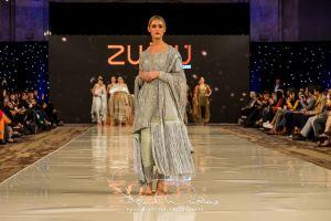 Zunn Catwalk At Pakistan Fashion Week London (19)